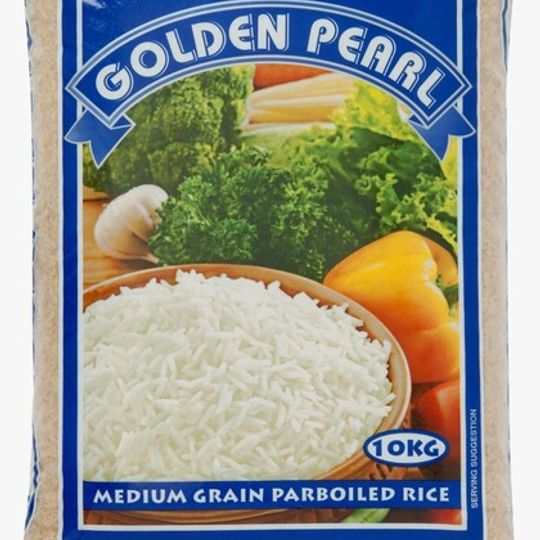 10kg Golden Pearl Rice.
