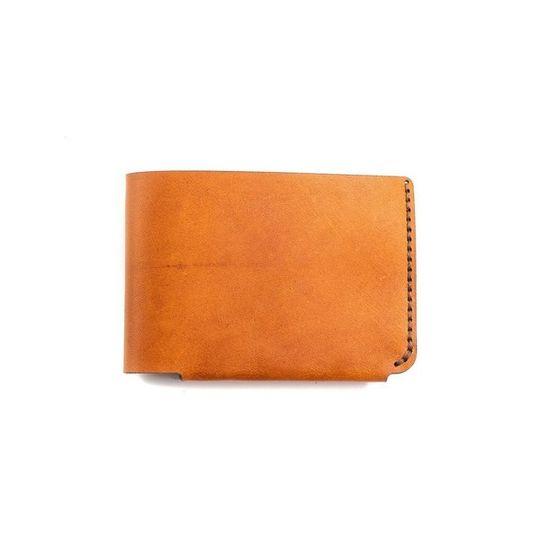 The Bifold Wallet - Cognac