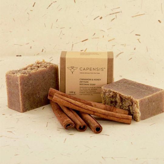 Cinnamon & Honey Natural Soap Bar