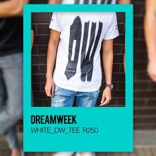 DREAMWEEK WHITE_DW_TEE