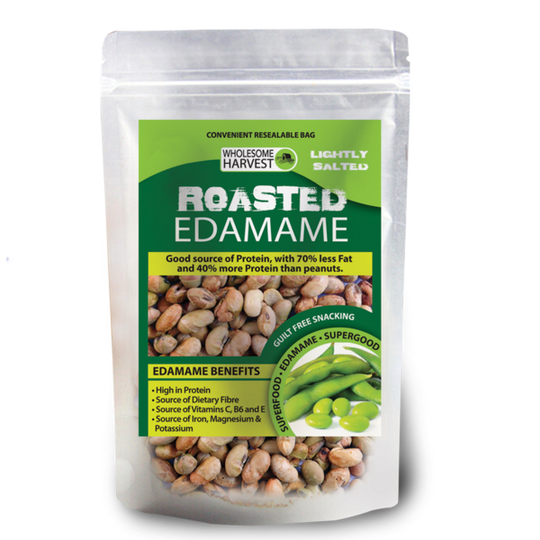 Wholesome Harvest Roasted & Salted Edamame Beans