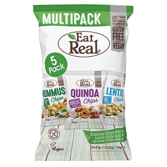 Eat Real Multipack pack 116g