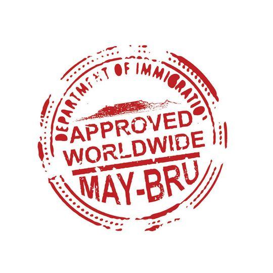 'Passport' Sticker
