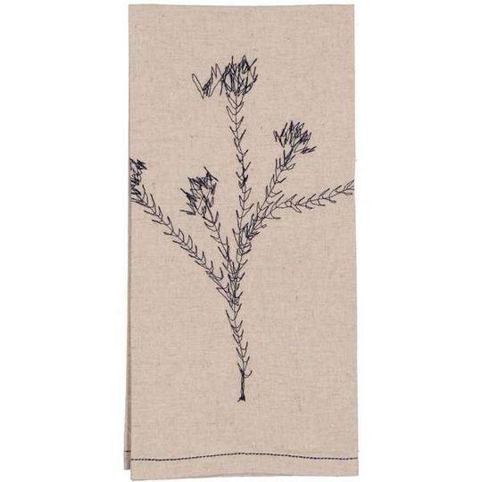 Hemp Fynbos Tea Towel / Hand Towel