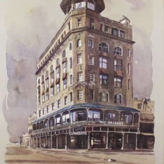 JHB Historical -Cuthberts Balcony and Jeppe Street  Prints -Malachi Smith signed