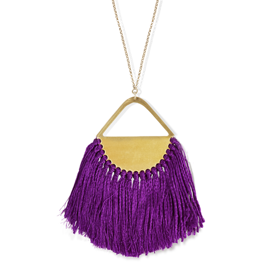 Tassel Pendant          -6 different colours