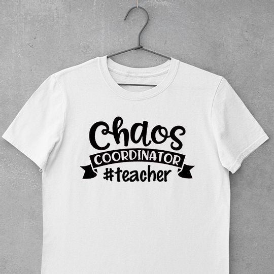 Chaos Coordinator #teacher