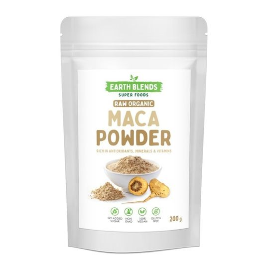 Earthblends Organic Yellow Maca Powder - (200g)