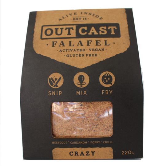 Outcast Crazy Falafel Mix 220g