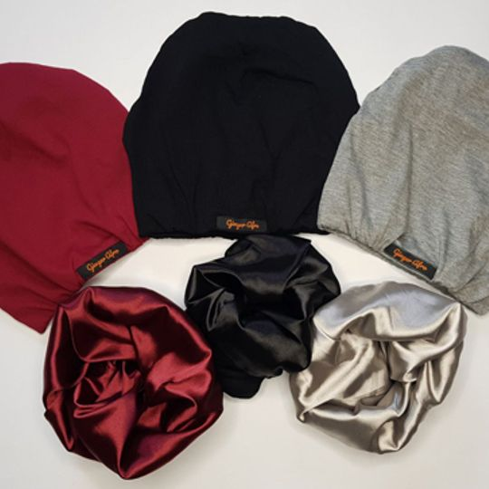 Cotton Satin-Lined Beanies