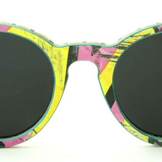 Thruster - Black Yellow Pink