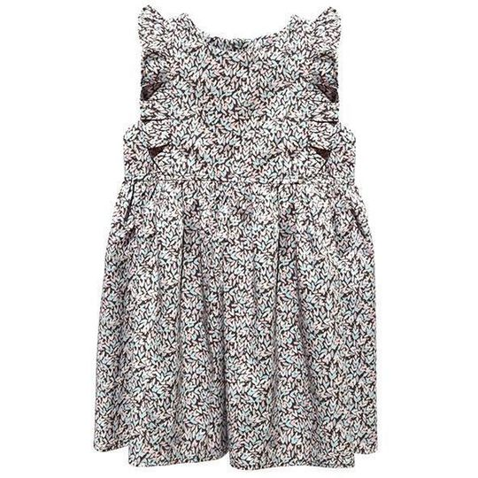 Dress / Girls - Mauve Hearts - M0419