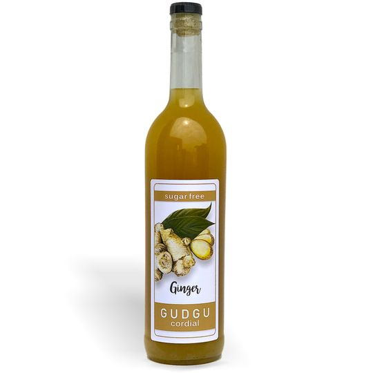 GUDGU SugarFREE Ginger Cordial 750ml
