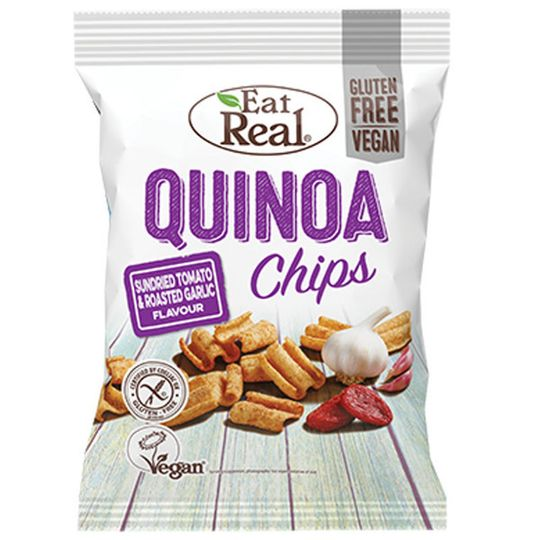 Eat Real Quinoa Sundried Tomato & Roasted Garlic 30g