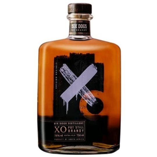 Six Dogs XO Pot Still Brandy 750ml