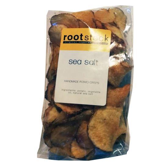 Sea Salt Handcut Potatoe Crisps (120g)