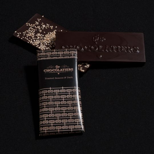 Toasted Sesame & Dark Chocolate Bar