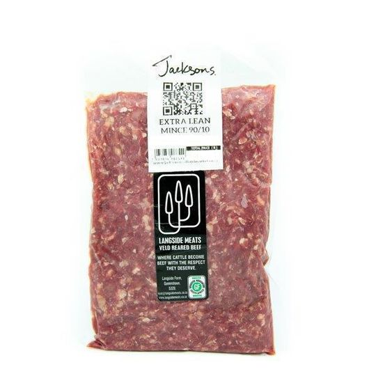 Extra Lean Grass-Fed Beef Mince (+-500g)