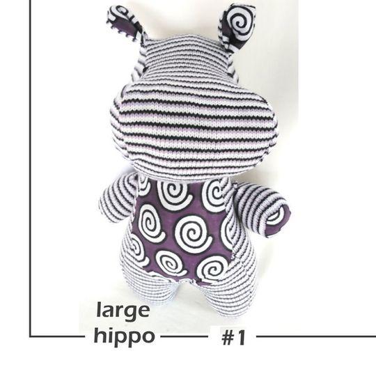 HIPPO Soft Toy