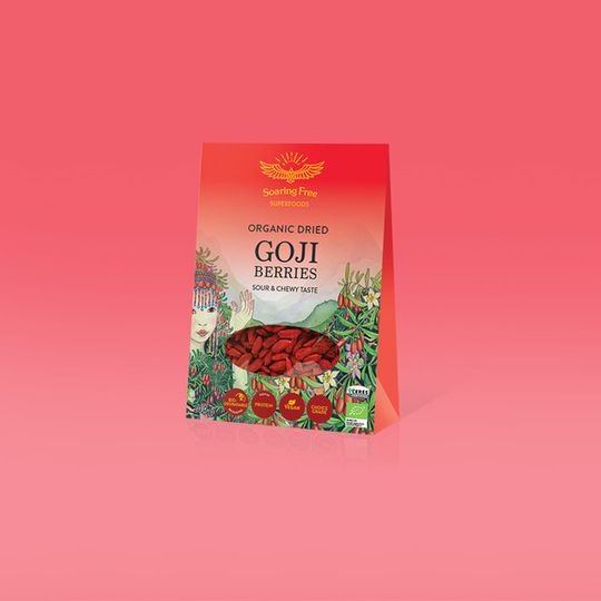 SOARING FREE SUPERFOODS Organic Goji Berries - 200g