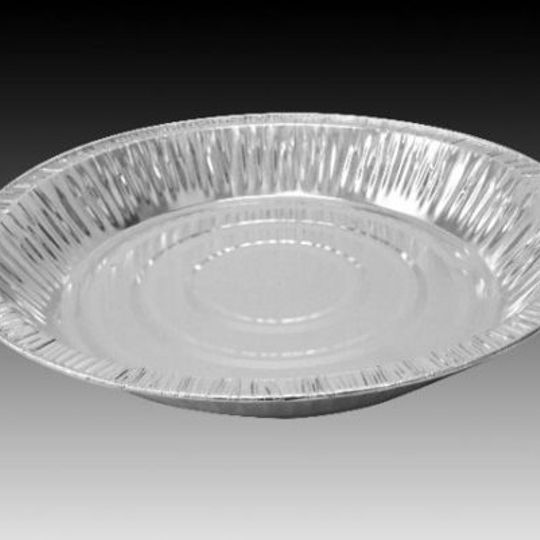 W3011- Large sized aluminium foil pie dish 800ml capacity