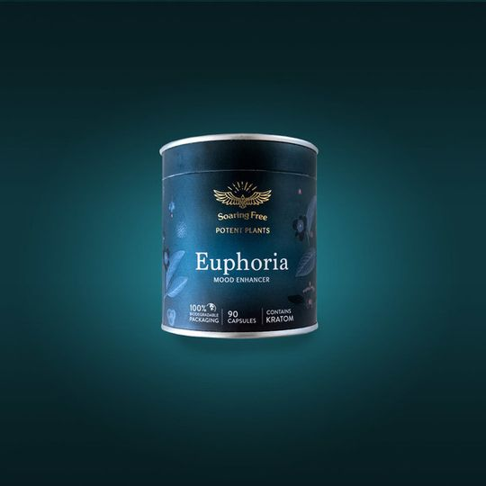 SOARING FREE SUPERFOODS Euphoria - 180 capsules / 45g