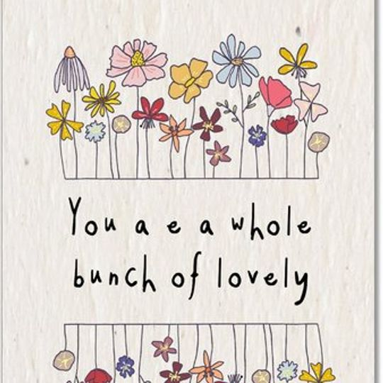Greeting Card | Bunch of Lovely