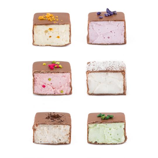 Artisan Marshmallows in Milk Chocolate 6pc